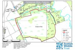 Carsegowan Moss, Wigtown Site Map