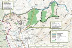 Corehead Farm, Moffat Site Map