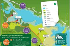 Ken-Dee Marshes RSPB nature reserve Site Map
