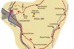 Bird Feeding Station, Langholm moor Site Map