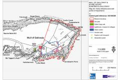 Mull of Galloway RSPB nature reserve Site Map