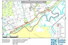 SWT Southwick Coast Reserve, Sandyhills Site Map