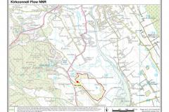 Kirkconnell Flow National Nature Reserve Site Map