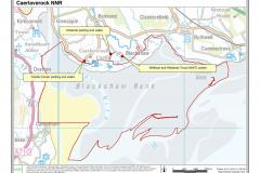 Caerlaverock National Nature Reserve Site Map