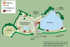 Moffat Community Nature Reserve Site Map