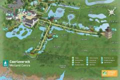WWT Caerlaverock Wetland Centre Site Map